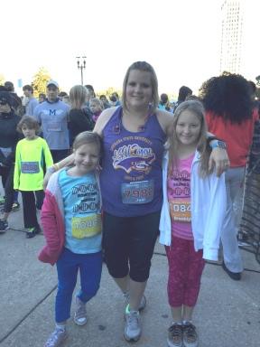 Jeni and the girls
